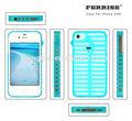 ferrise design de moda de alta qualidade fina transparente marca caso de telefone celular para o iphone 4s telefone caso
