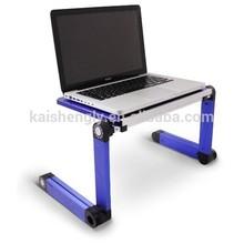 mini foldable household bamboo laptop desk table