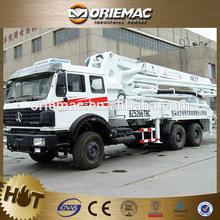 BEIBEN NG80 37m concrete pump truck in algeria