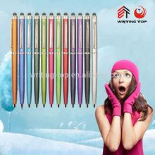 2014 import curvy ballpoint pen for advertising