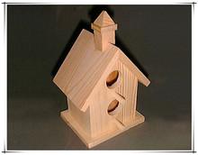 Elegant Cheap Wood Bird House for Home or Garden