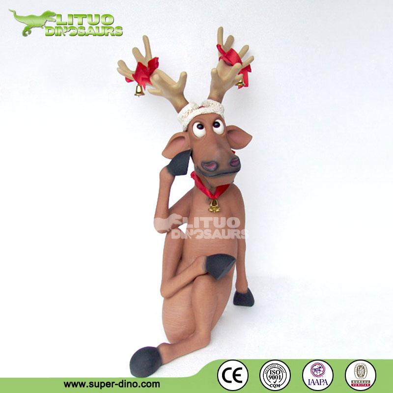 Outdoor Reindeer Statues Animal Statue Outdoor Life