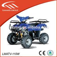 110cc sports speed motor china hot sale quad bikes four stroke mini atv with CE/EPA