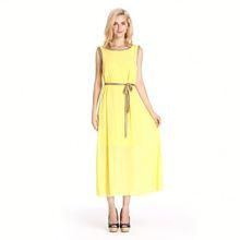 Good Prices Fashion Maxi Chiffon Dresses Long Sleeves