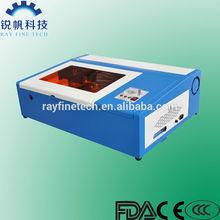 mini laser engraving machine RF-3020-CO2-40W rayfine brand