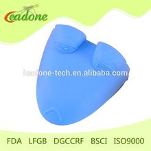 2014 latest new design heat resisting silicone glove food grade non-toxic silicone oven mitt silicone