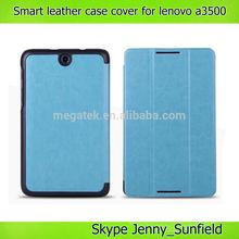 Tablet case cover super slim smart cover for Lenovo A3500,for Lenovo A3500 smart cover