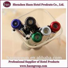 hotel plastic led light pen with logo for promotional advertising