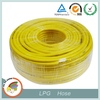flexible pvc gas connection hose for burner gas stove