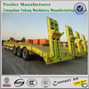 3 axle lowbed trailer, low bed semi trailer for sale