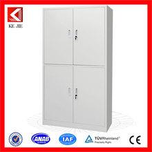 practical wholesale security metal filing cupboard/4 drawer cupboard padlock unique steel 4 doors file cabinet