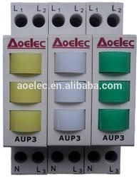 AUP3 Din Rail mounting 12v mini led indicator lights