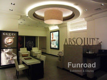 Luxury Absolut Watch Retail Shop Brand Rest Area Table and Desk