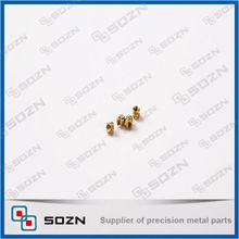 small brass knurled threaded plastic insert nut