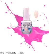 [RNK]1326 fashion salon professional nail polish gel, led gel nail polish, free sample uv gel nail polish