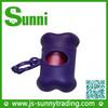 [Sunni]Popular plastic custom dog poop bag dispenser with pet poop bag for sale