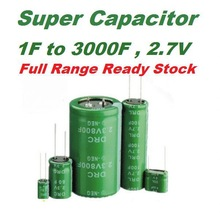 Best Price 2.7v 3f for cell phone Manufacturer Stock farad Capacitor