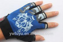 half finger sports cycling custom cheap pro bike gloves
