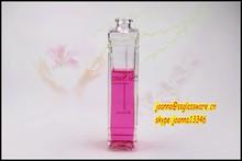 100ml lady elegant empty spray perfume glass bottle with sprayer