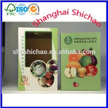 customized Fruit packaging box,fruit carton box apples,cheap cardboard fruit boxes