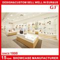 la producción de alto nivel para la decoración de zapatos escaparate de tienda de muebles