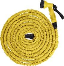 flexible expandle garden wash car water hose pipe free gun