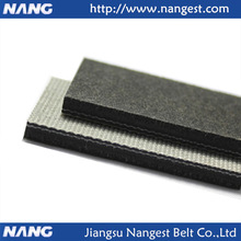 Grey wool felt conveyor belt for material handling