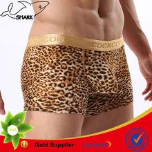 2014 Hot sex leotards boxer elastic waistband for men OEM
