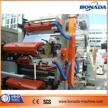 YT Series 4 color four-color pp/pe/ pvc/bopp/paper flexo printing machine