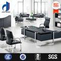 mesa de mesas y sillas de oficina ejecutiva escritorio de pvc de alta clase de muebles de oficina