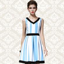 2015 ladys spring summer stylis wearble woven midi dress