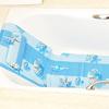 Non- toxic pvc non skid curved bath mat