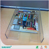 New design customized acrylic plastic tray for food