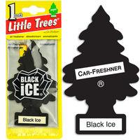 450GSM Black Ice Scent Paper Car air Freshener Supplier