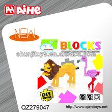China new design plastic building blocks toys wholesale