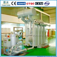 66kV Oil-immersion Electrical Power Transformer coil winding machine transformer