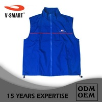 High Quality Factory Price Classic Customized Logo Printed Fish Vest