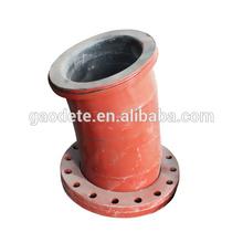 Wear resistant steel plastic elbow, anti corrosion pipe