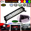 Wholesale dual row straight Cre 72W 13.5inch 5760lm led offroad light bar