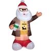 Best quality 7 ft inflatable christmas santa for christmas decoratiom