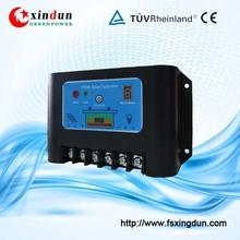 intelligent pwm 12v solar panel charge controller