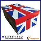 wholesale custom printed carton shoe storage box
