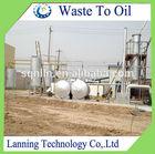 New technology waste tyre oil distillation plant to diesel oil
