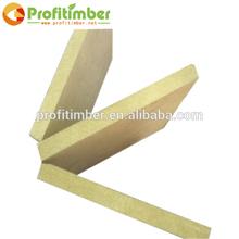 Interior Wall Woo Paneling, Unfinishing material Raw MDF Wood