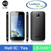 Hotknot 1.3GHz 6582 mtk 4g lte 4.5 inch magic voice phone with GMS license LB-H451 OEM ODM