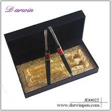 Promotional wholesale cheap set metal pen celebration gift