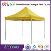 Aluminum&durable customized nylon cheap folding tent 2x2