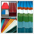 High quality corrugated steel roofing sheet- color steel sheet for roof sheet metal panels for fences
