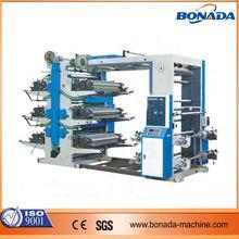 YT Series 6 color flexo printing machine/plastic bag flexographic printing machine/flexo printing machine price