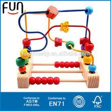 Nuevo producto vendedor caliente 2014 del bebé de madera laberinto juguete AT11625
